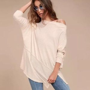 Free People Londontown Thermal Top Womens Size L
